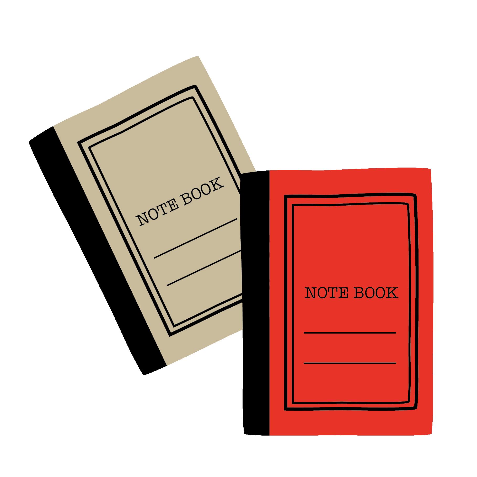 おしゃれ な ノートのーと Noteの おすすめ 無料 イラスト 商用