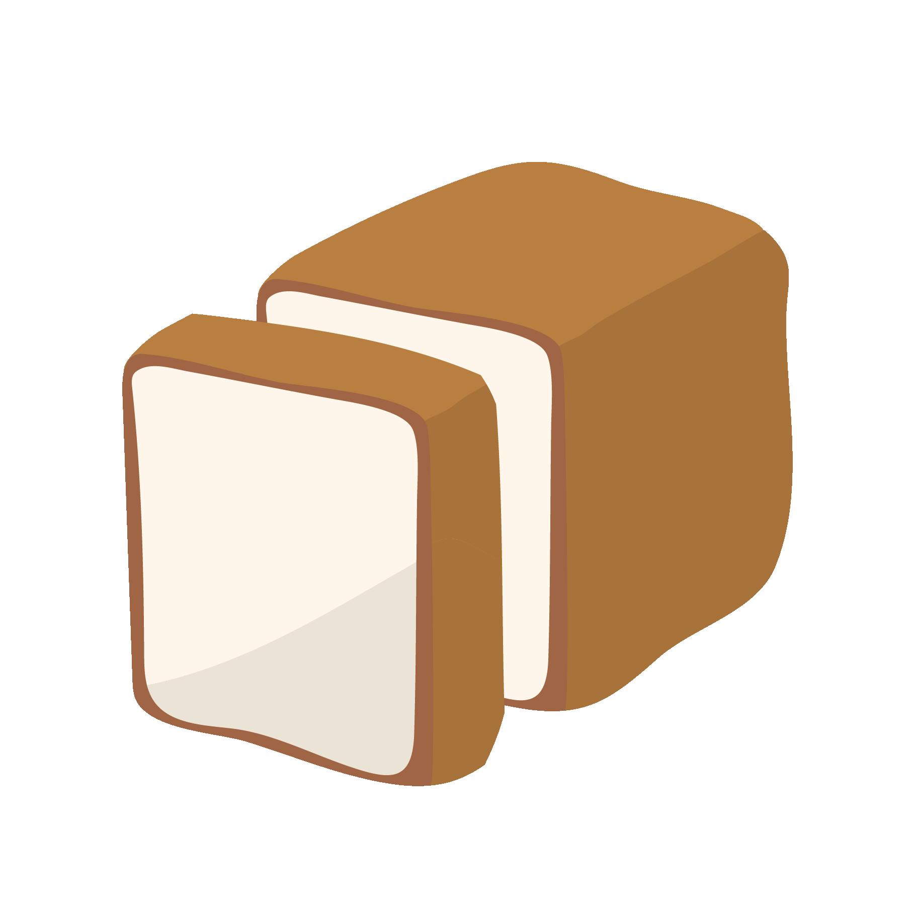食パンしょくぱんのイラスト 商用フリー無料のイラスト素材なら