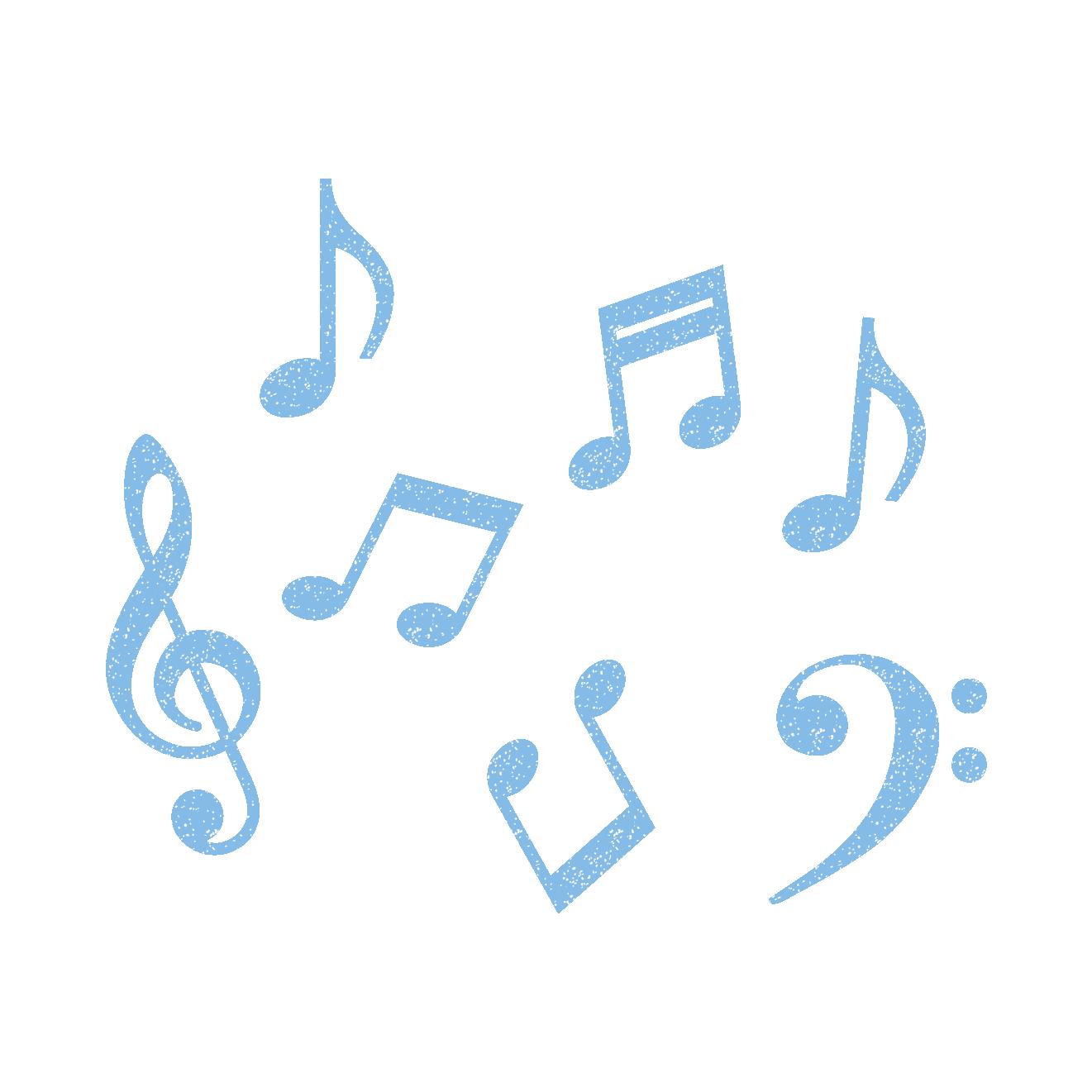音符のスタンプ イラスト 商用フリー無料のイラスト素材なら