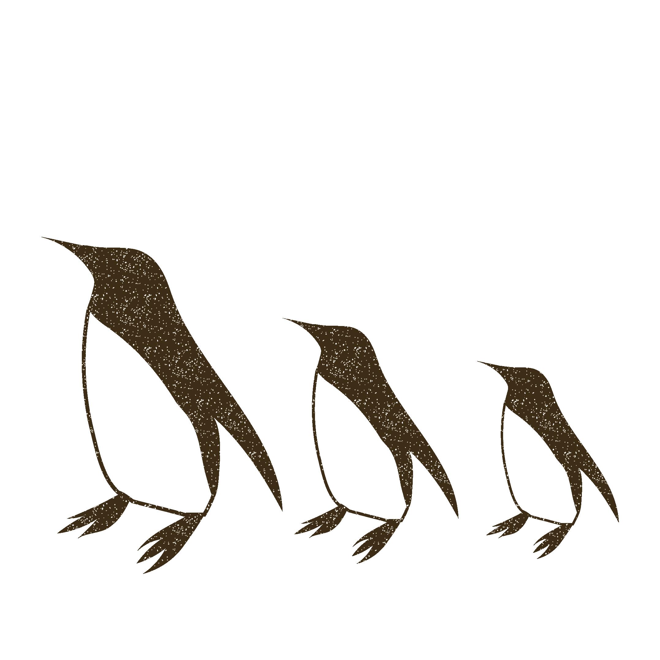 ペンギンのスタンプ イラスト 商用フリー無料のイラスト素材なら