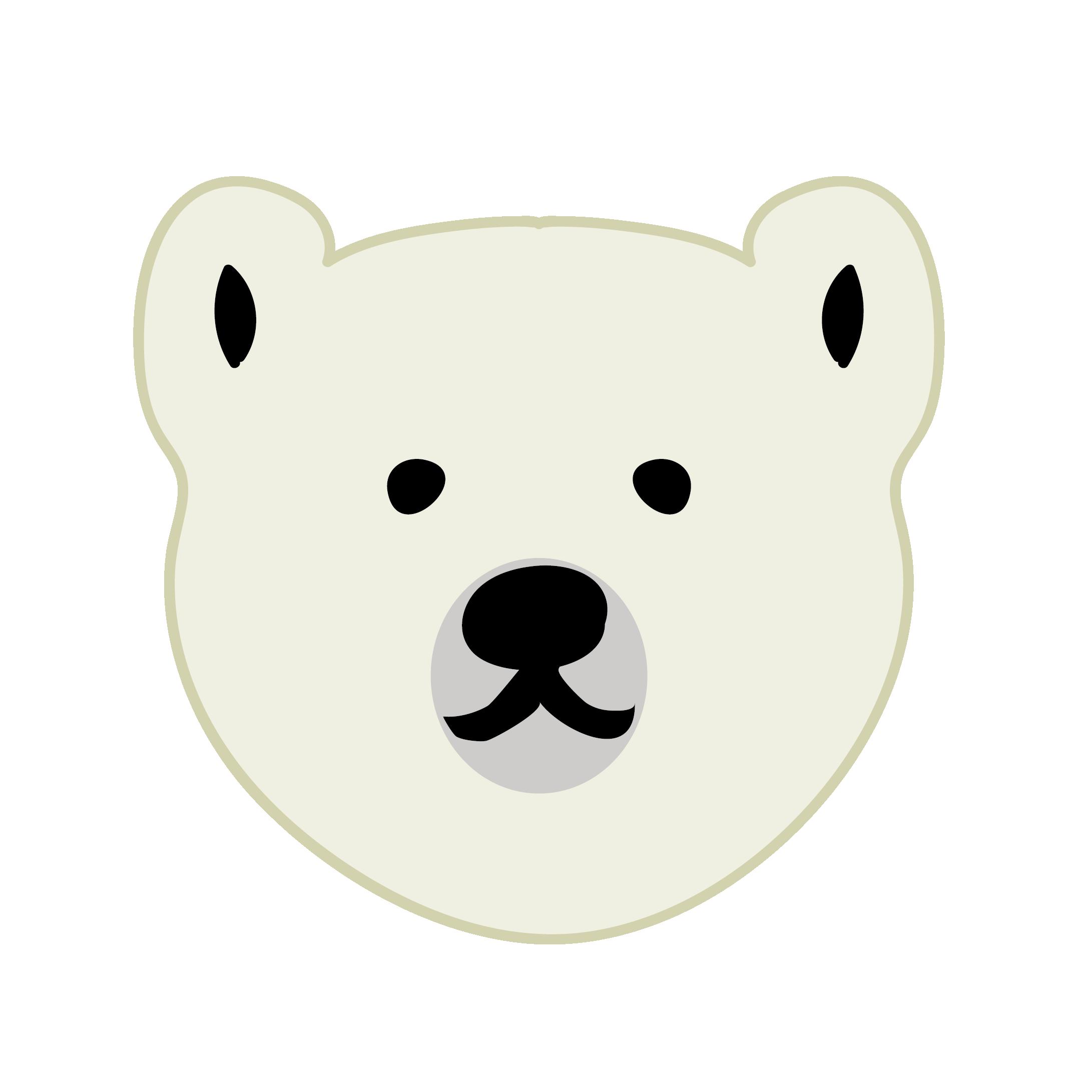 くま イラスト白熊シロクマ 商用フリー無料のイラスト素材なら