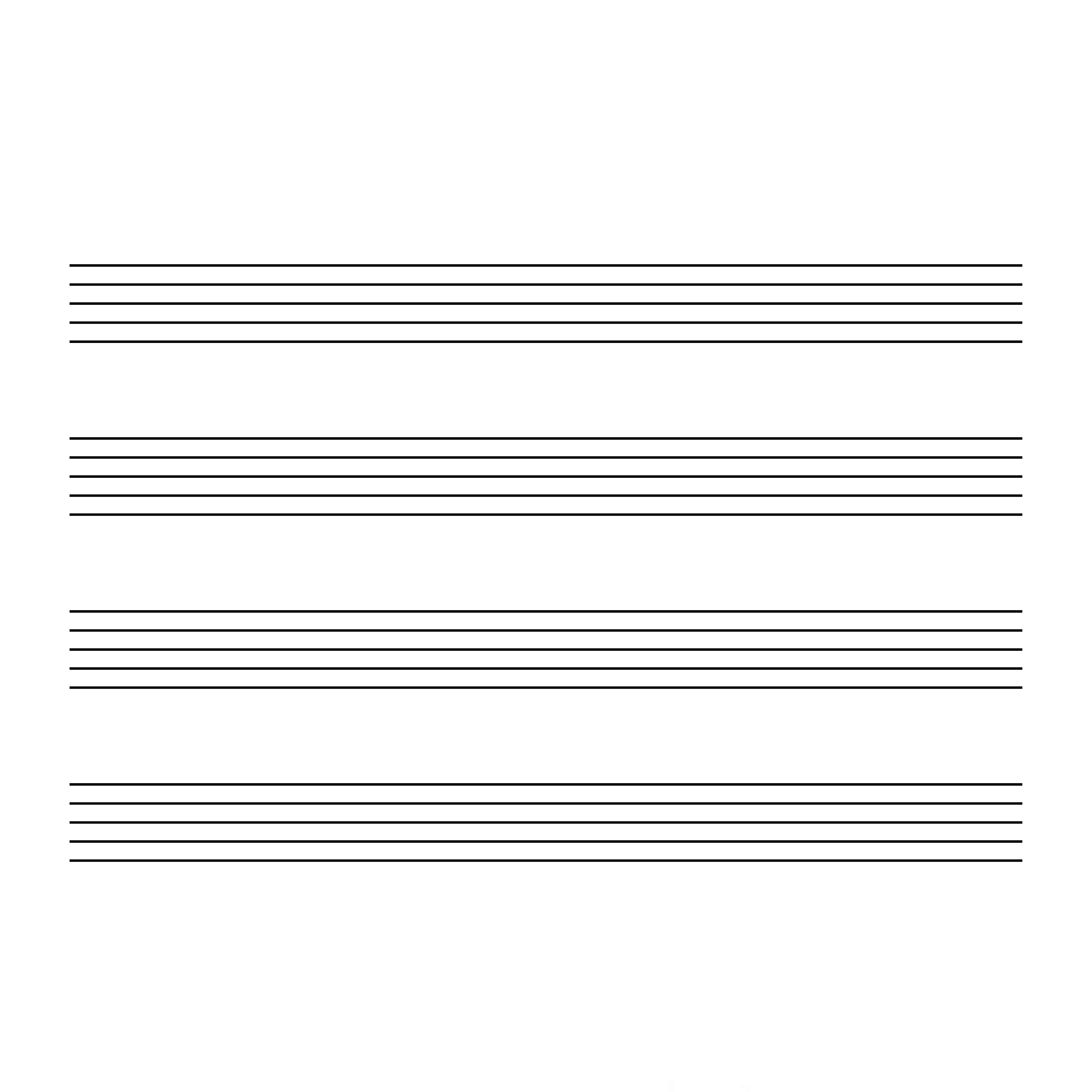 無料 五線譜