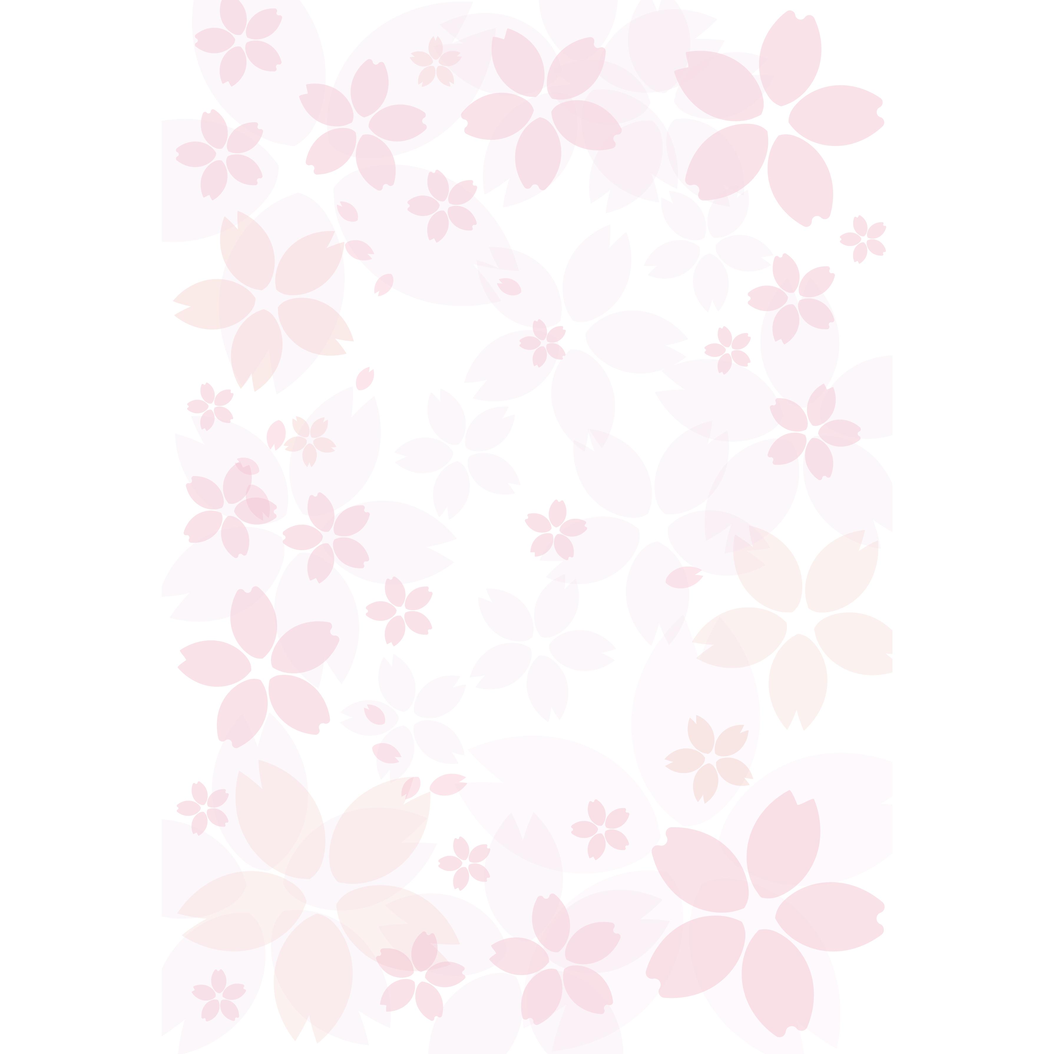 春を感じる!桜(サクラ)の背景 イラスト | 商用フリー(無料)の