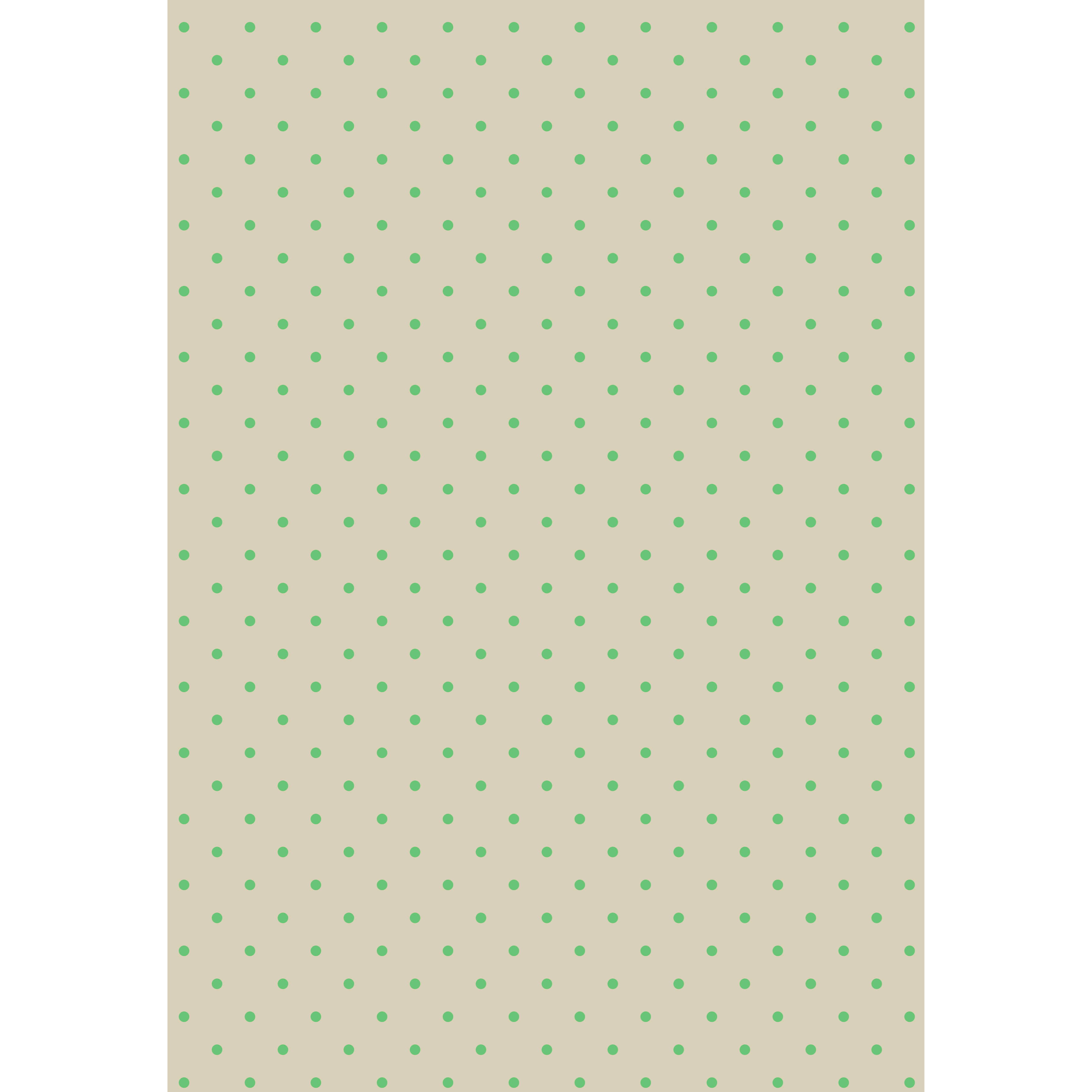水玉(ドット)ベージュ×緑 背景デザイン イラスト | 商用フリー(無料
