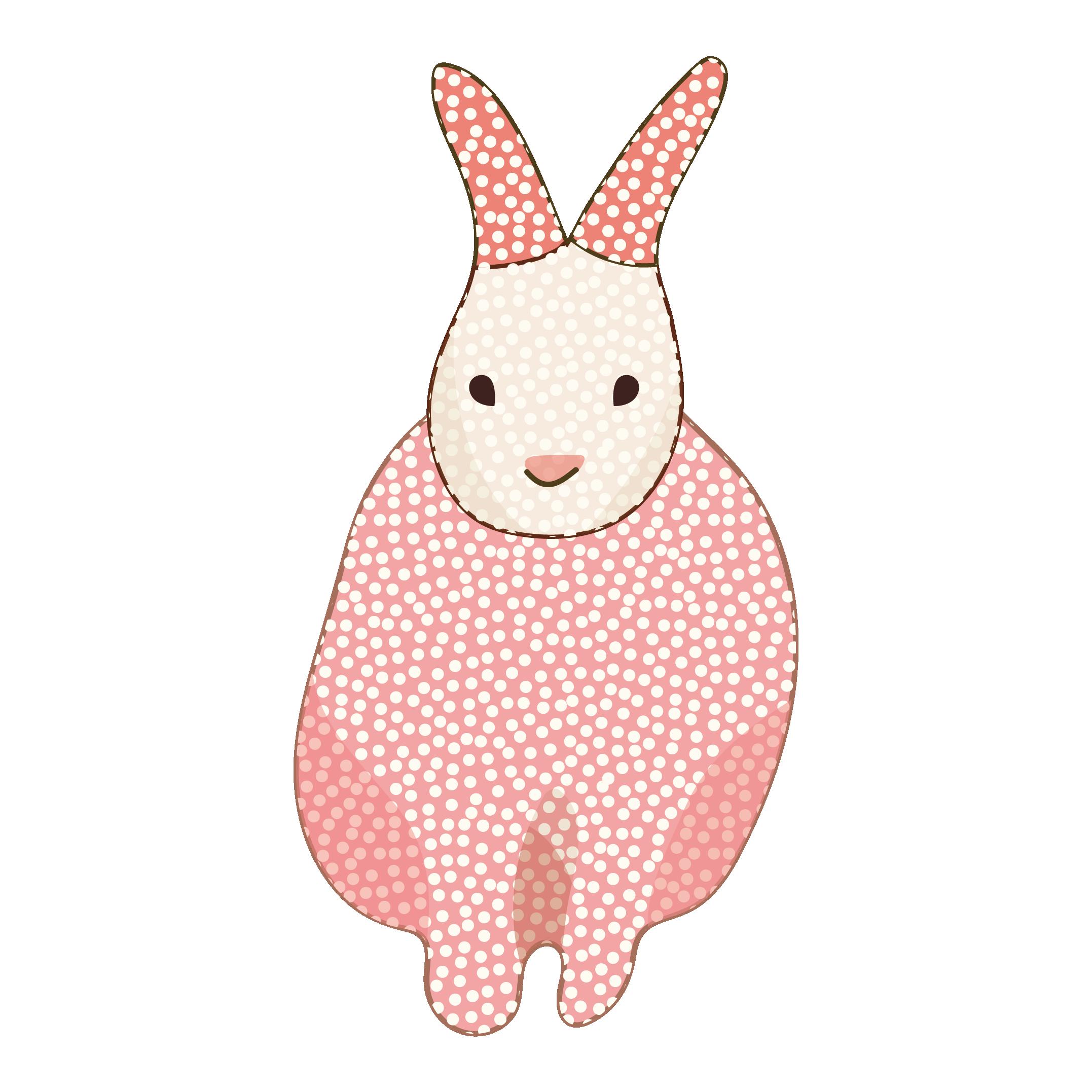 可愛くてオシャレな「うさぎ(兎・ウサギ)のイラスト【動物】 | 商用
