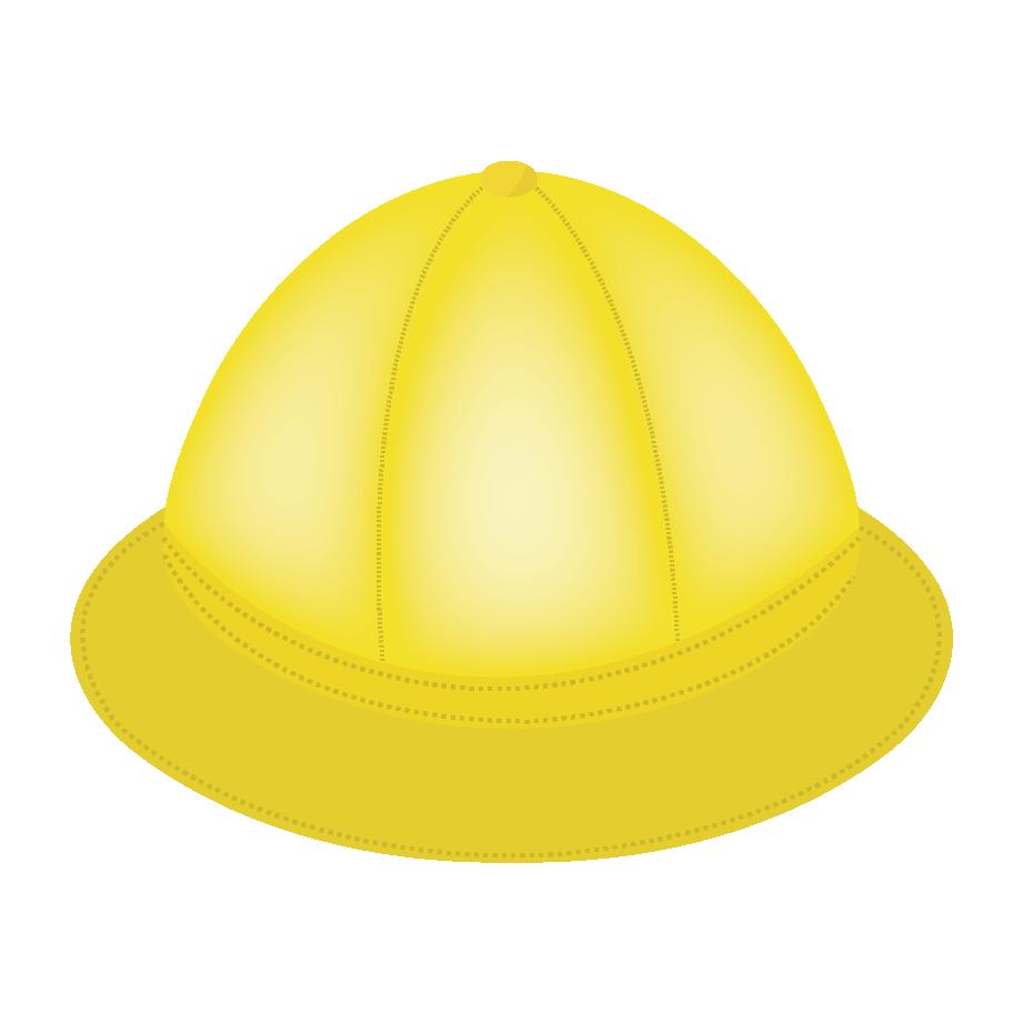 通園通学帽子黄色い帽子のイラスト 商用フリー無料のイラスト