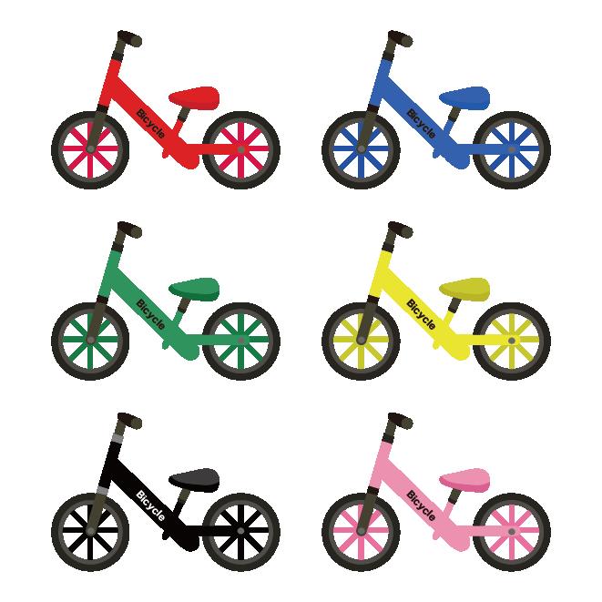 人気の 子供の自転車ペダルなしランニングバイクまとめ イラスト