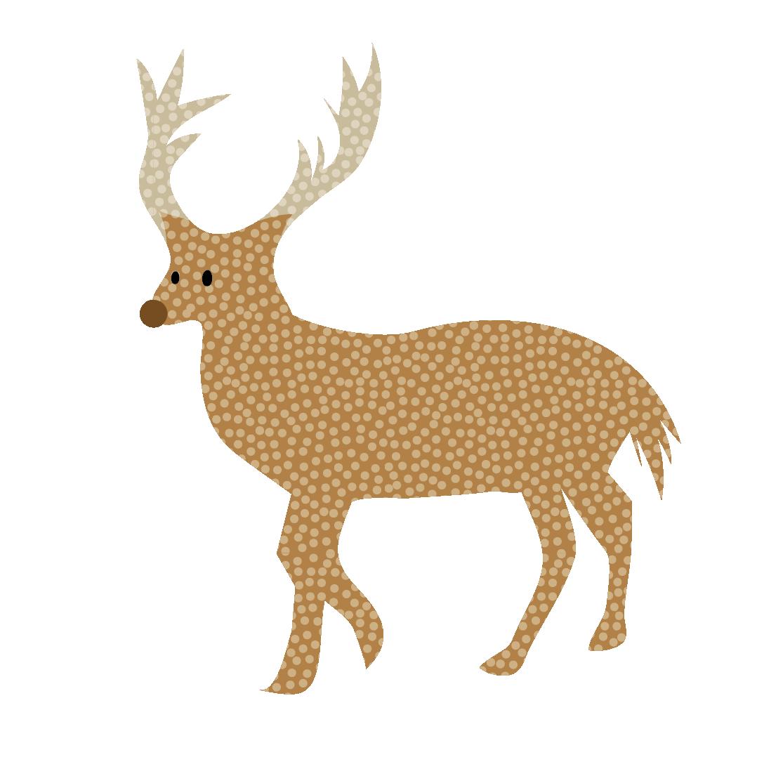 かわいい トナカイ の おしゃれな 北欧風 無料 イラスト 商用フリー 無料 のイラスト素材なら イラストマンション