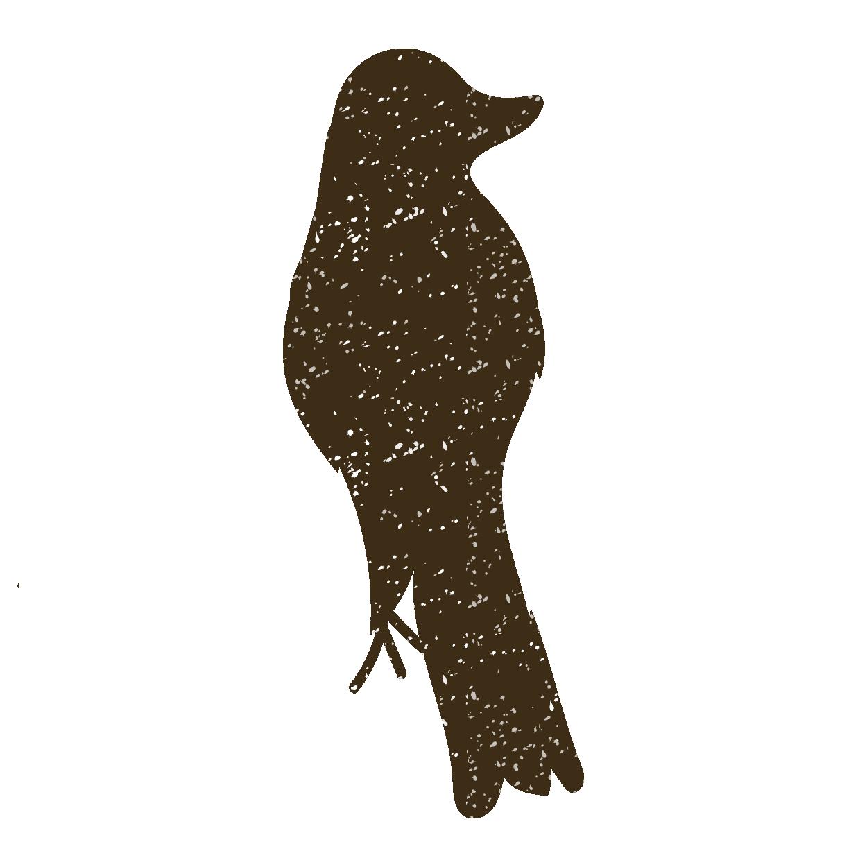鳥(鳥・とり・トリ・バード)のスタンプイラスト【動物】 | 商用