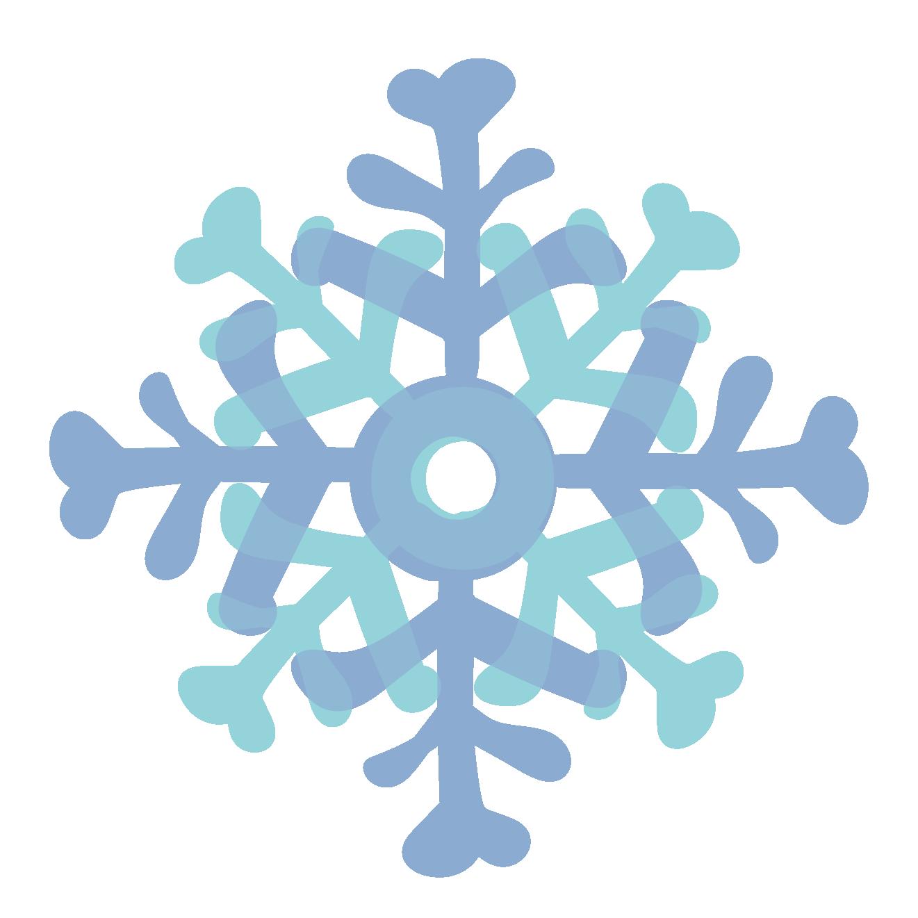 冬綺麗な雪の結晶 フリー イラスト 商用フリー無料のイラスト