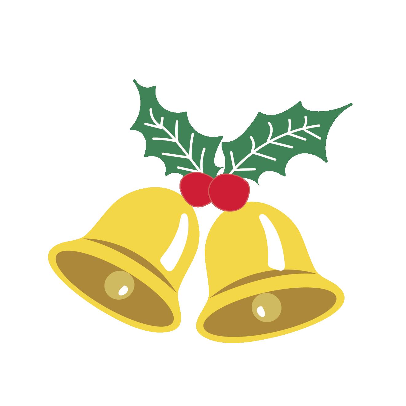 クリスマスベル(鈴)のイラスト | 商用フリー(無料)のイラスト素材なら