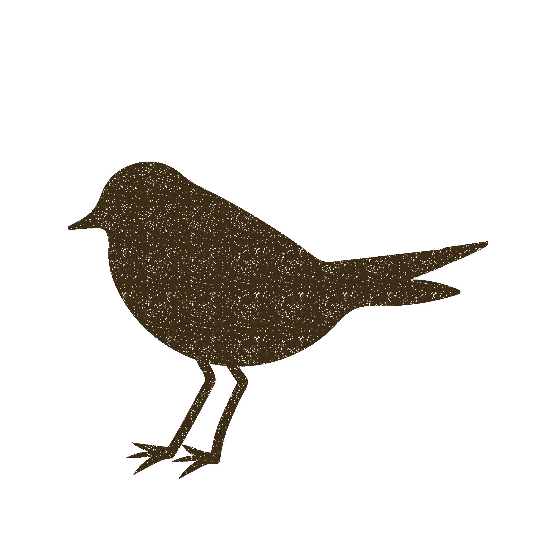 シンプルな鳥のスタンプ イラスト | 商用フリー(無料)のイラスト素材なら