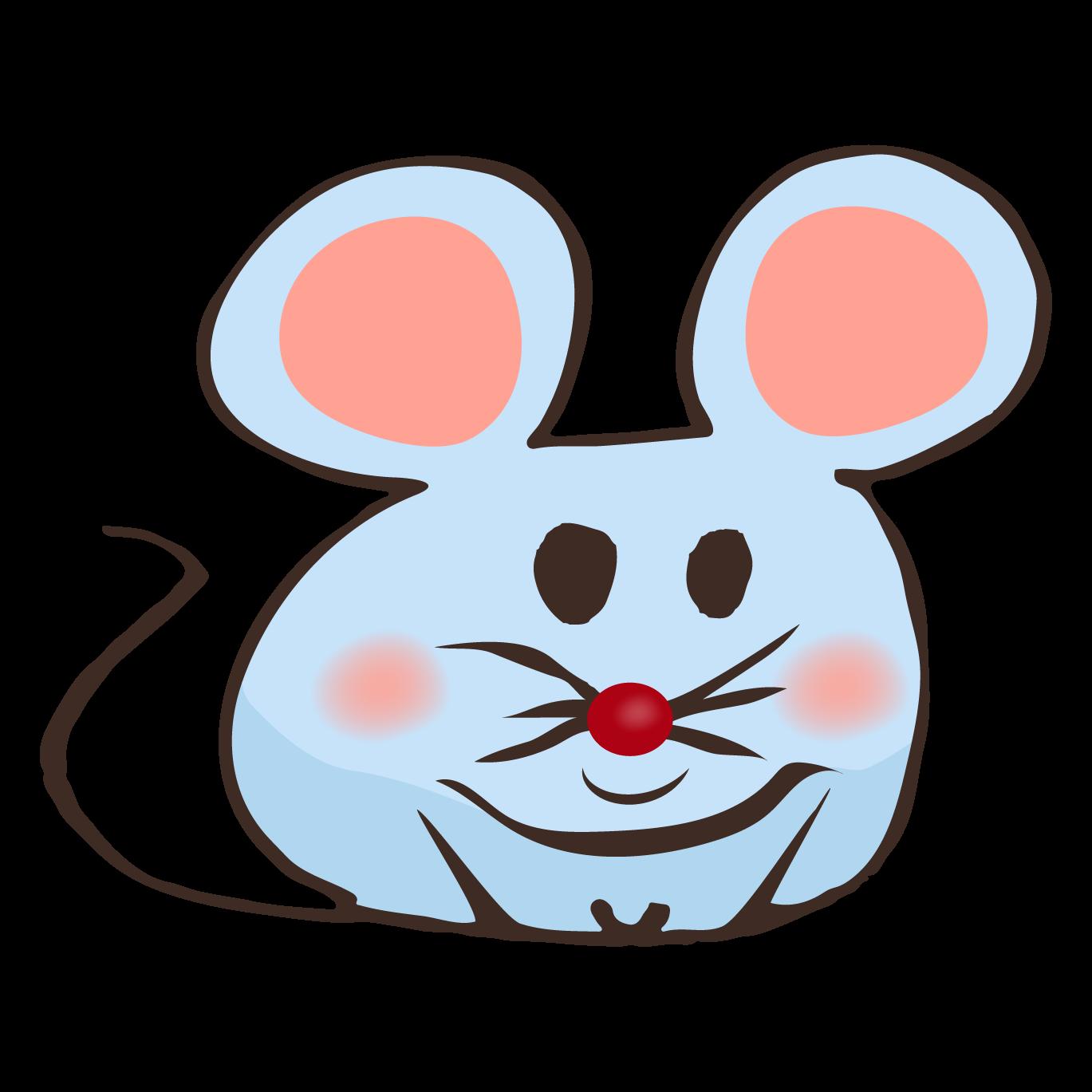 ネズミ(鼠,ねずみ)ゆるかわいい!手書き デザイン  フリー  イラスト!