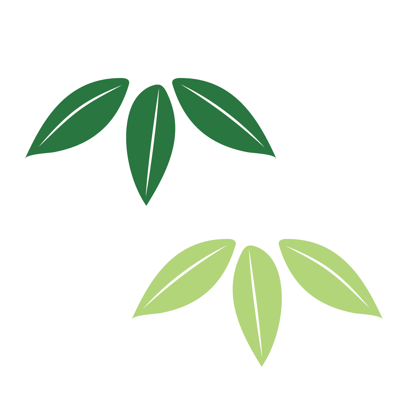 松竹梅、竹(たけ)のイラスト【正月!年賀状用のワンポイント】