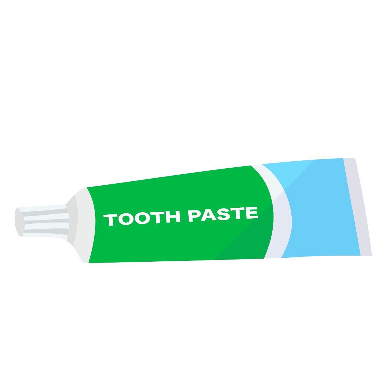 オシャレな歯磨き粉のイラスト 商用フリー無料のイラスト素材なら