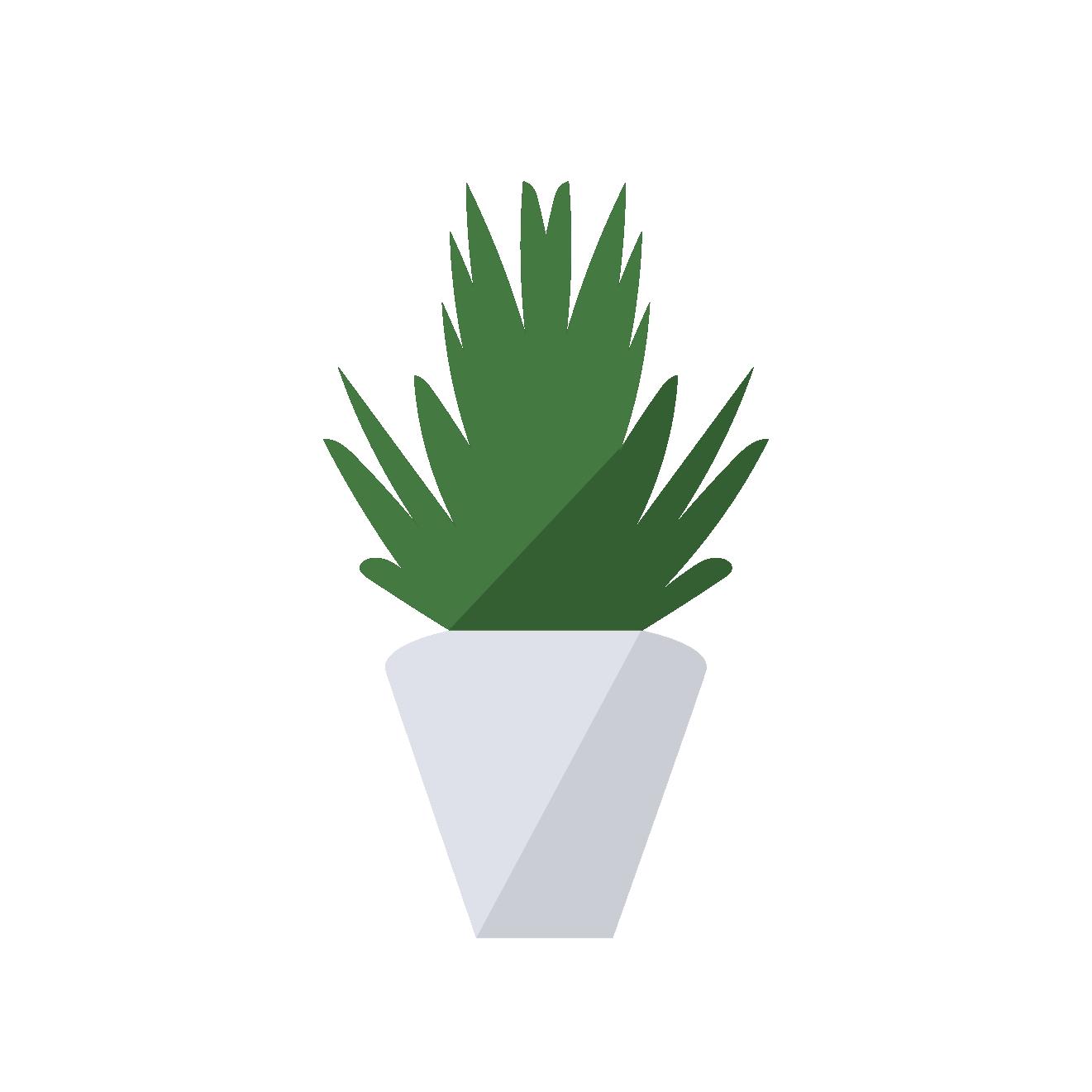かわいい &おしゃれ!観葉植物の フリー イラスト【植物・グリーン】