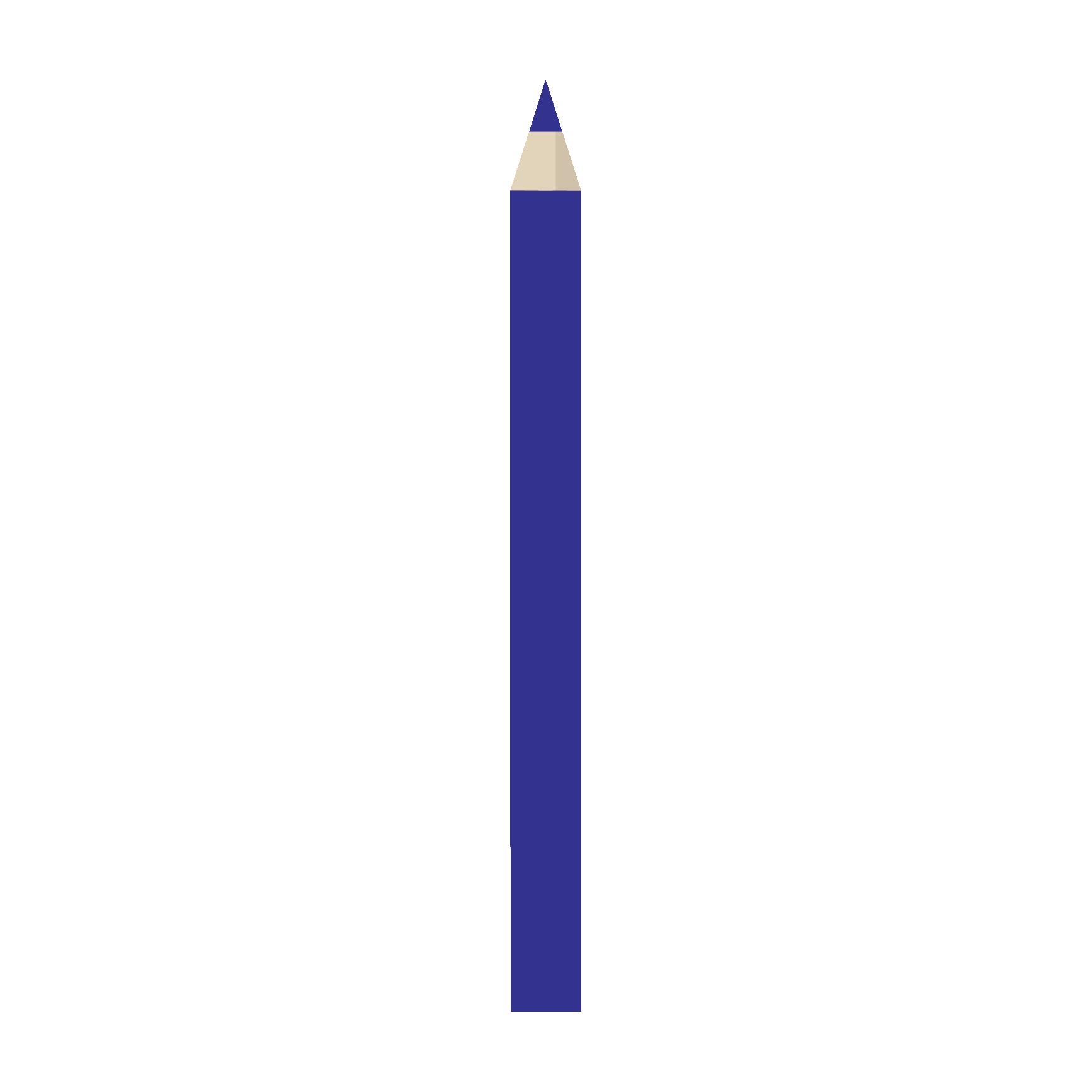 おすすめ! 青 鉛筆(えんぴつ)の フリー イラスト