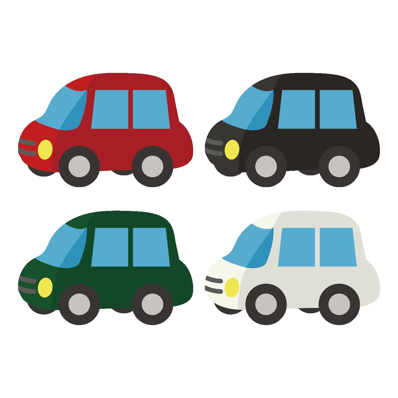新車!?乗用車(車・自動車)のイラスト | 商用フリー(無料)のイラスト