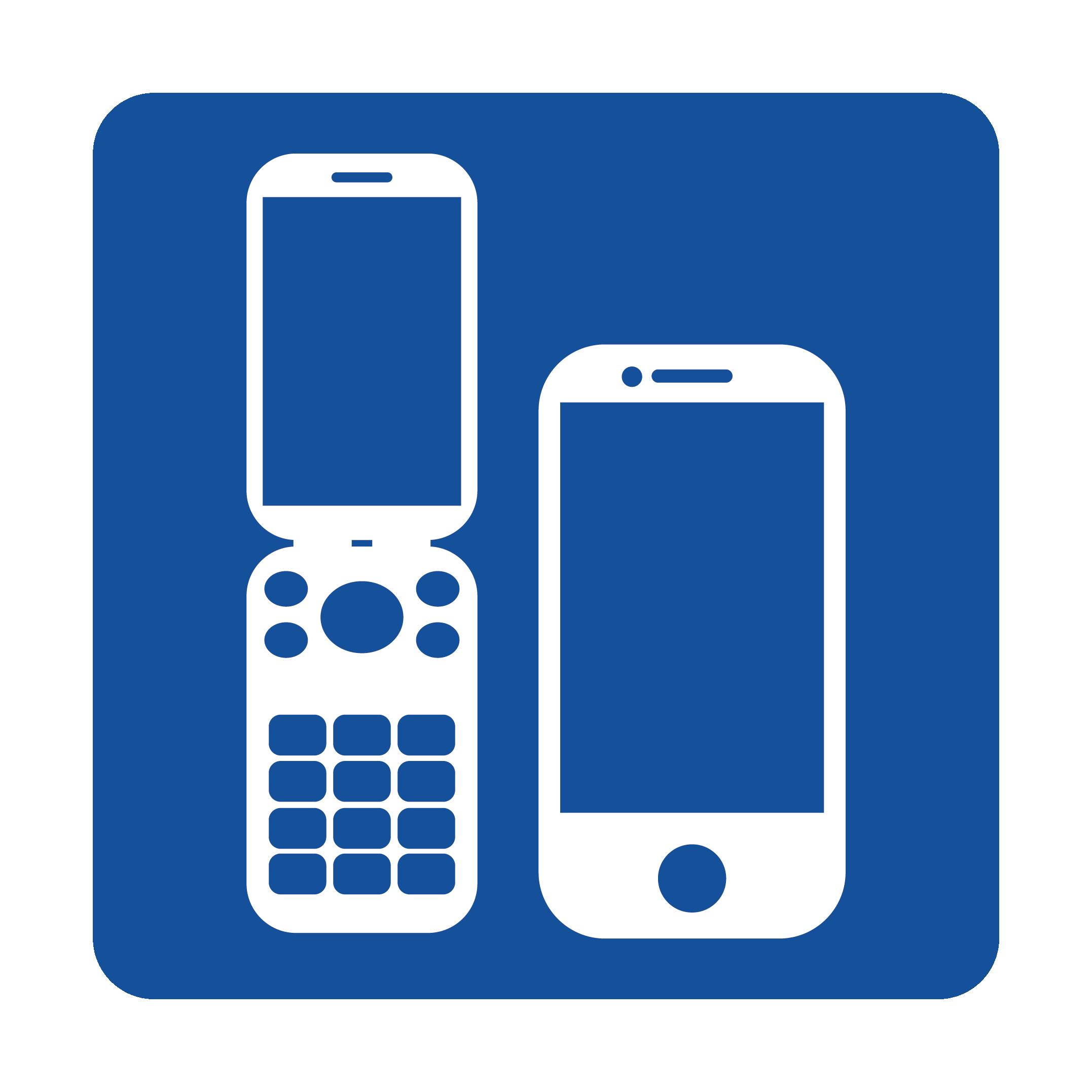 携帯電話のマークのイラスト | 商用フリー(無料)のイラスト素材なら