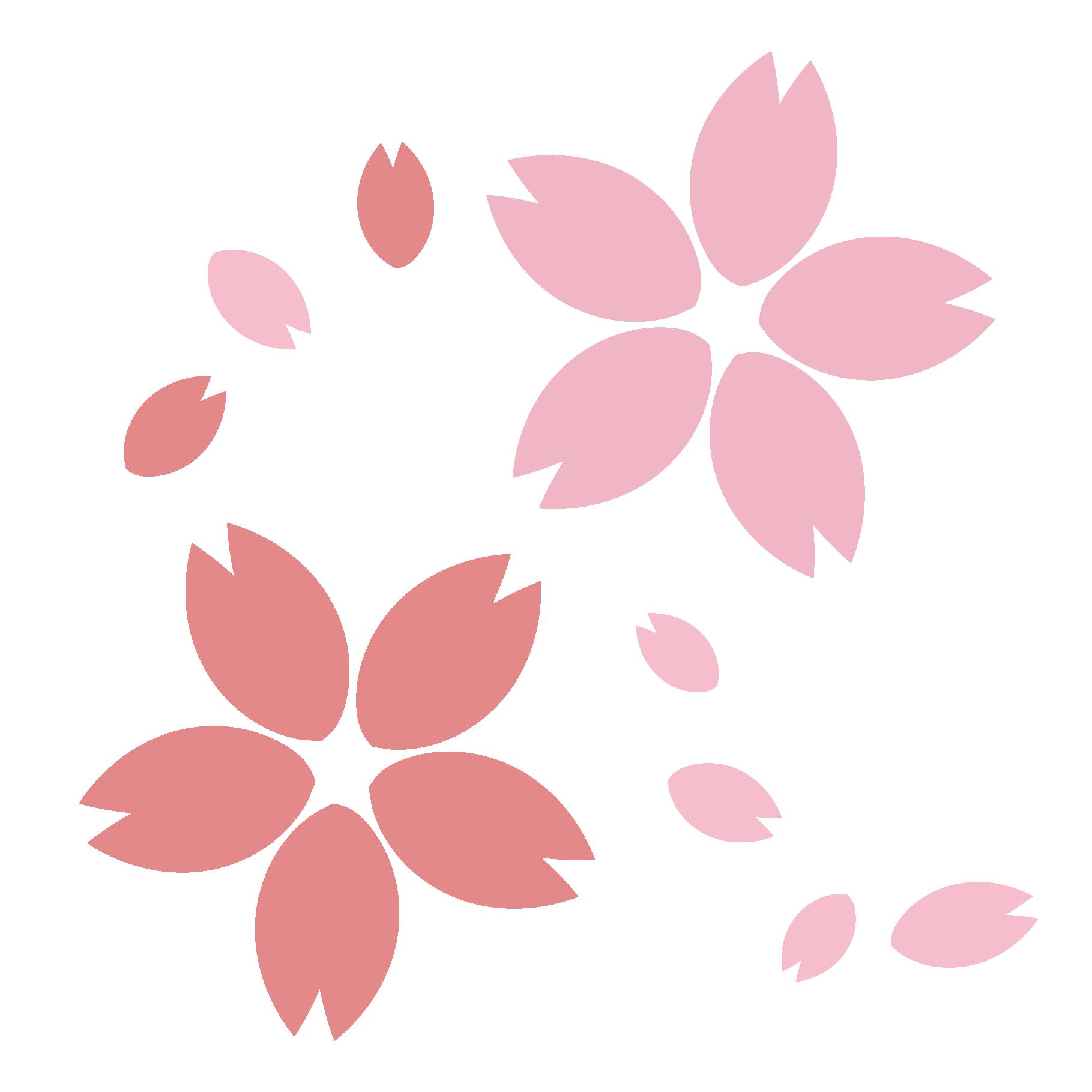 桜(さくら・サクラ)のイラスト【春】