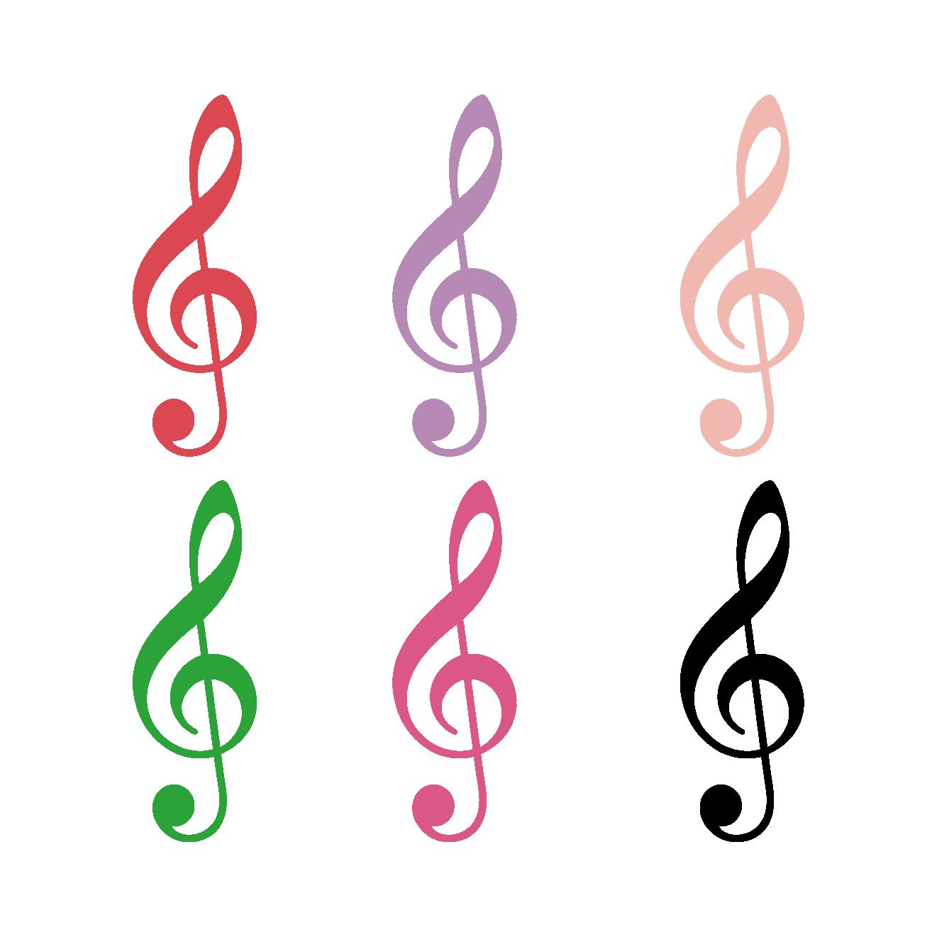 ト音記号(とおんきごう)のイラスト【音楽】 | 商用フリー(無料)の