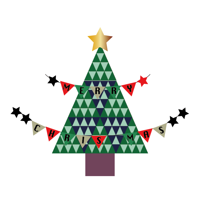 christmas tree at starbucks