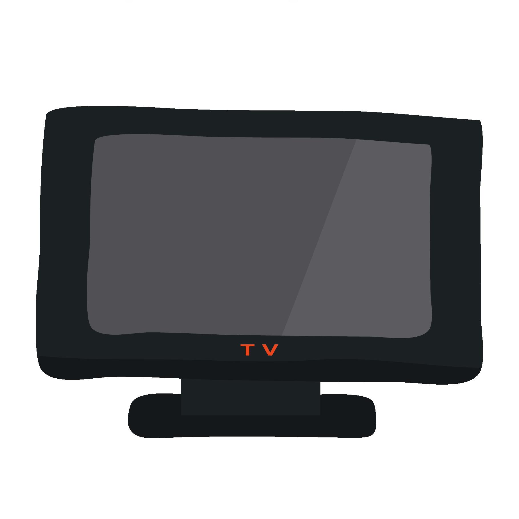 テレビ(てれび・tv)のイラスト【電化製品】 | 商用フリー(無料)の