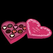 バレンタインチョコ 本命 かわいい イラスト