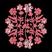 Flower花 スタンプ素材 商用フリー無料のイラスト素材なら