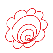 かわいい 花丸(はなまる)の 無料(フリー)  png イラスト