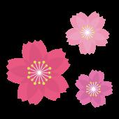 桜(サクラ・さくら)フリー の かわいい イラスト