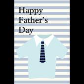 父の日♪おしゃれなグリーティングカード(縦)無料 イラスト